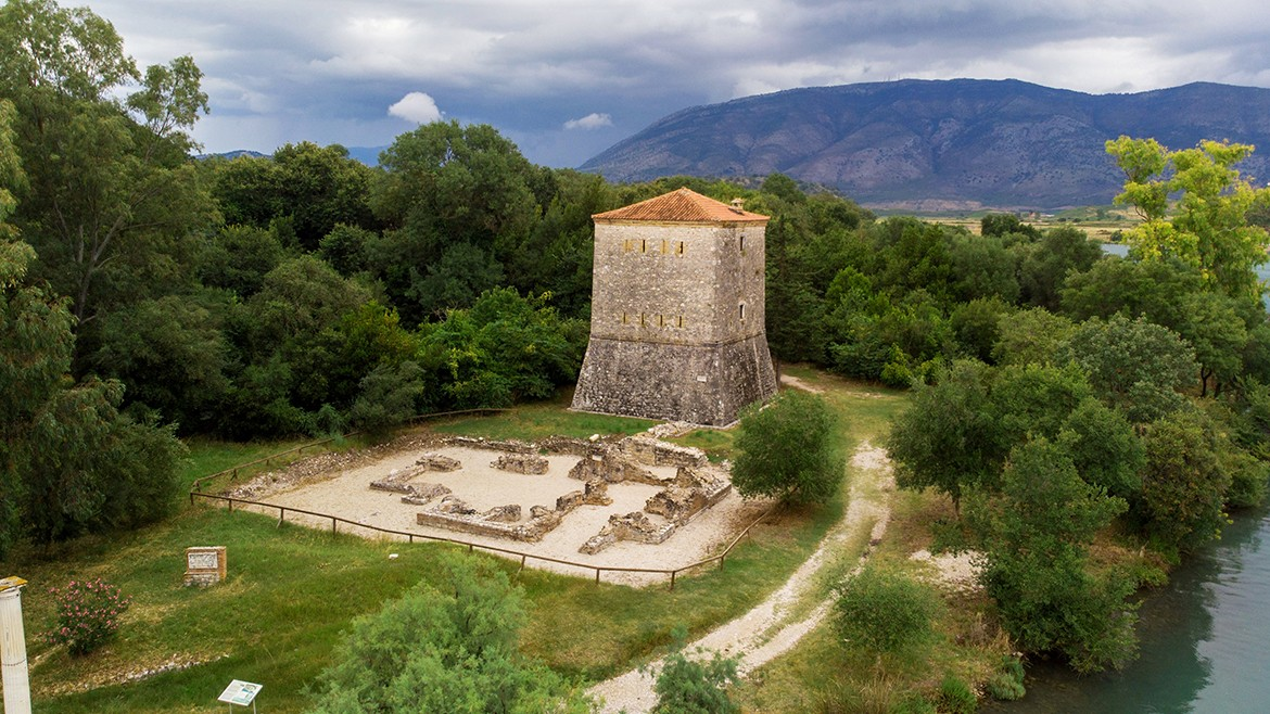 The Venetian tower in Butrint