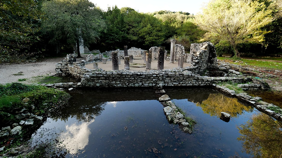 The Baptistery in Butrint