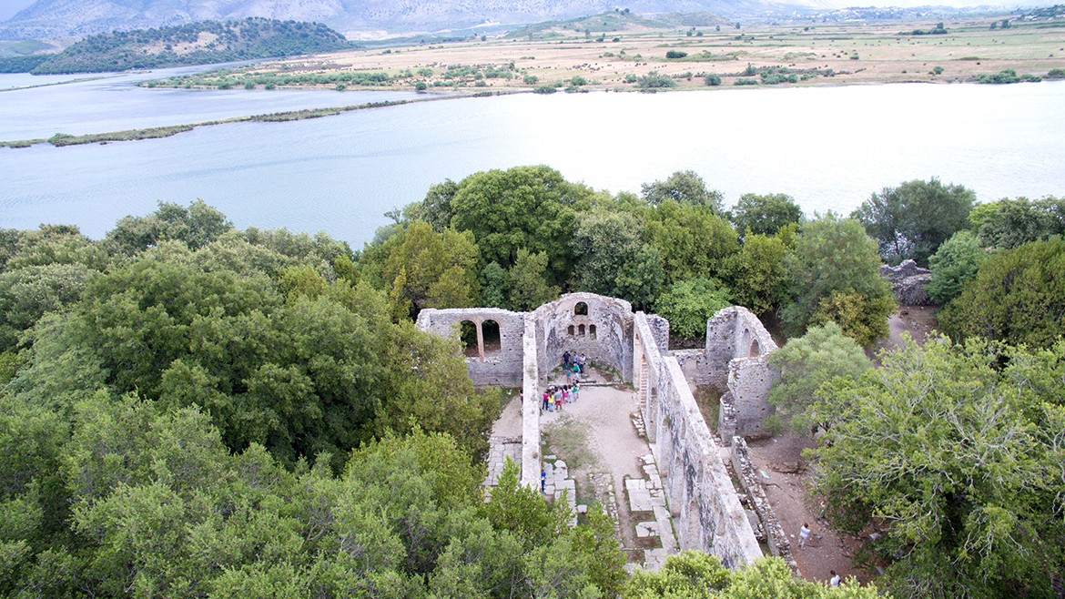 The Great Basilica in Butrint
