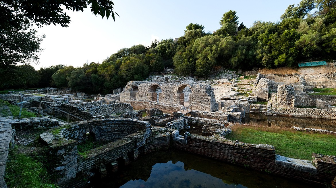 The theatre in Butrint
