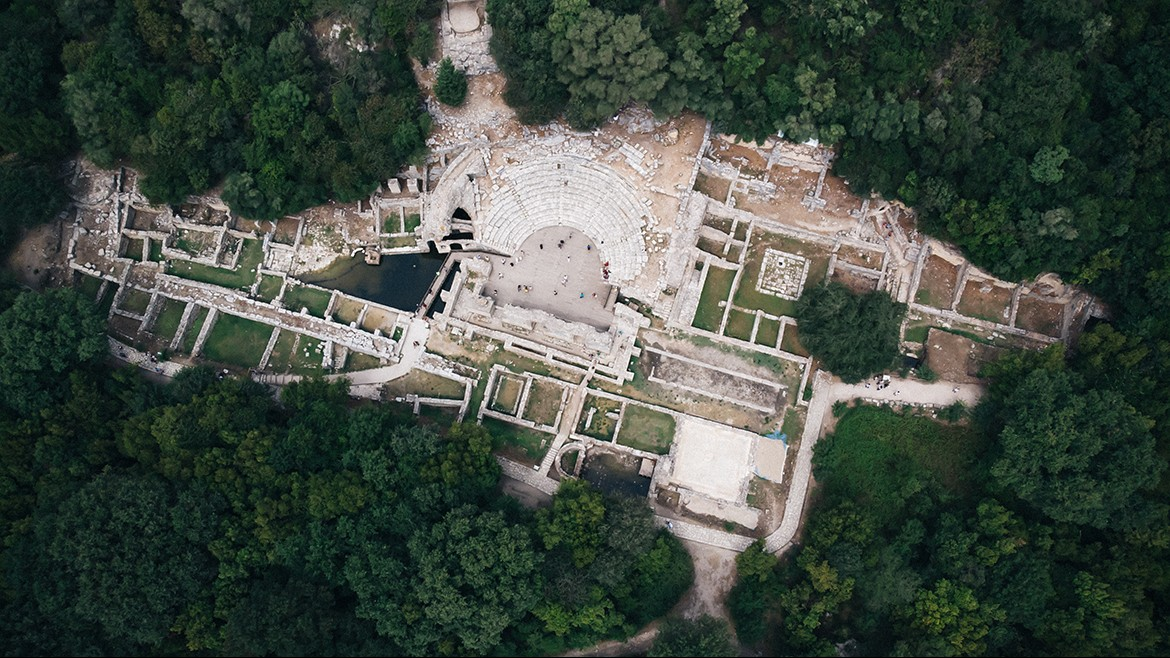 Butrint from the air