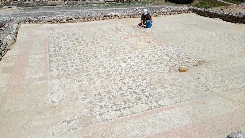 Mosaic floor in Butint