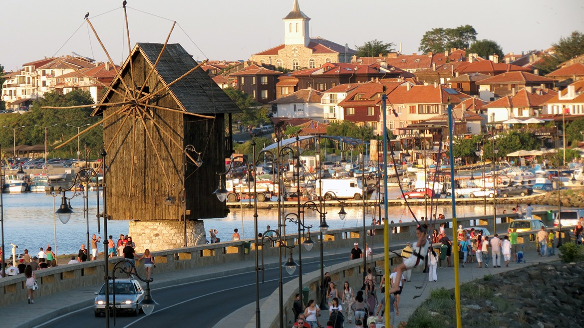 The tourist destination Nessebar