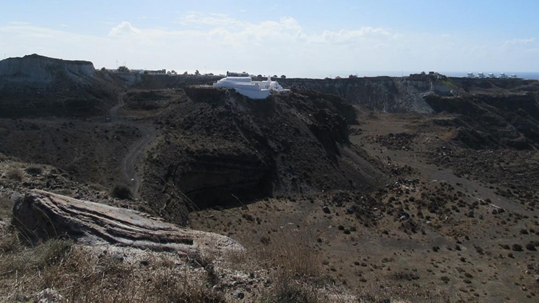 Mines of Megalochori - Post-byzantine churches