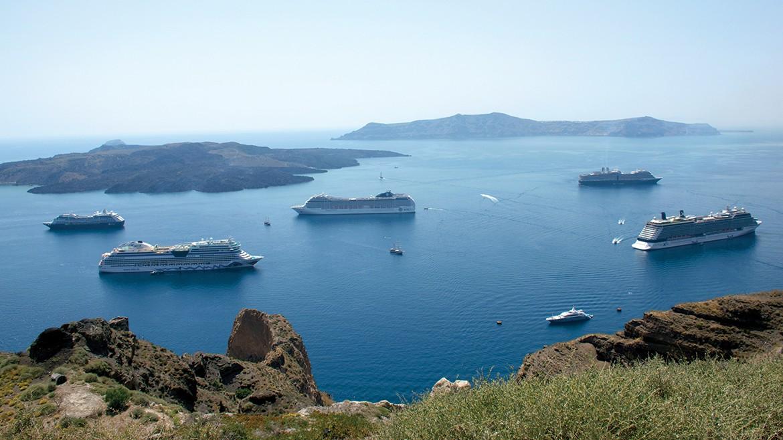 Tourism in Santorini