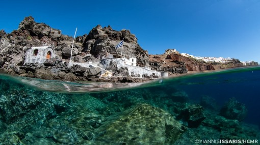Santorini, the first mission of Hellenic Centre for Marine Research (HCMR)
