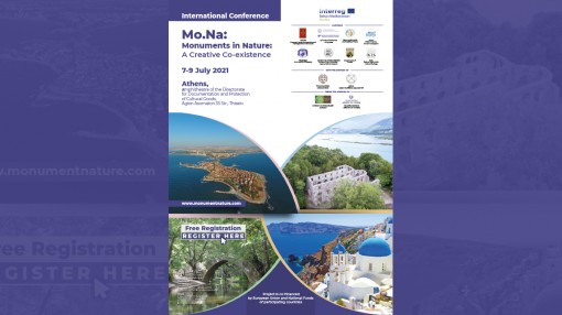 """Press Release     Hybrid International Conference """"Mo.Na.: Monuments in Nature: A creative Co-existence."""""""